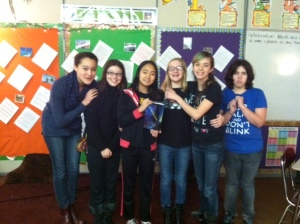 students with Entangled