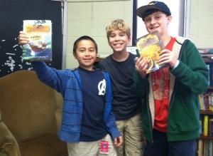 boys with cc books